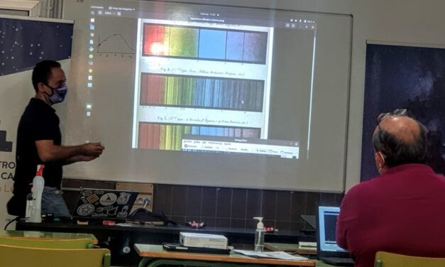 Taller de Introducción a la espectrografía con IRAF